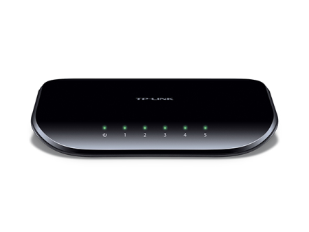 TP-LINK SWITCH 5 PUERTOS GIGABIT DESKTOP (TL-SG1005D)