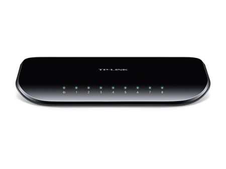 TP-LINK SWITCH 8 PUERTOS GIGABIT DESKTOP (TL-SG1008D)
