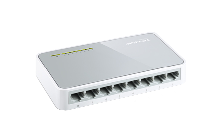 TP-LINK SWITCH 8 PUERTOS 100MBPS DESKTOP (TL-SF1008D)