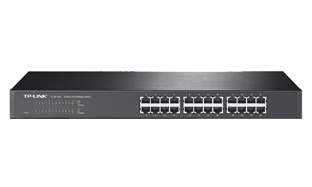 TP-LINK SWITCH 24 PUERTOS 100MBPS RACKEABLE (TL-SF1024)