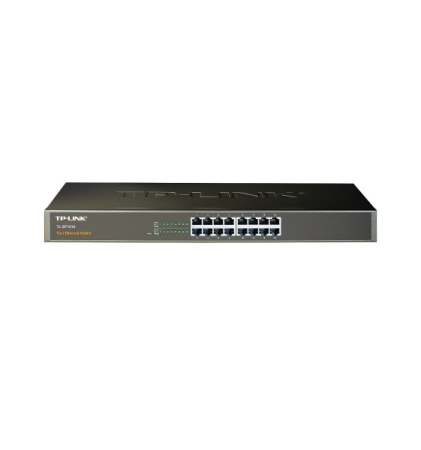 TP-LINK SWITCH 16 PUERTOS 100MBPS RACKEABLE (TL-SF1016)