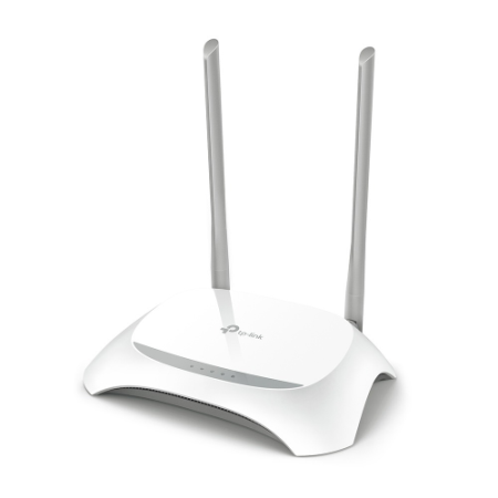 TP-LINK ROUTER WIRELESS N 300MBPS  TEMPLATE ISP (TL-WR850N)