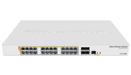 MIKROTIK SWITCH POE CRS328-24P-4S+RM